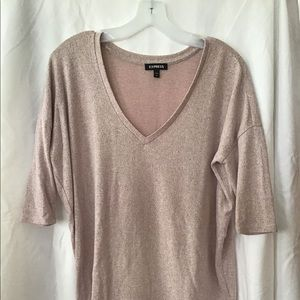 Express v neck sweater, S